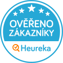 Odznak Heuréka Ověřeno zákazníky